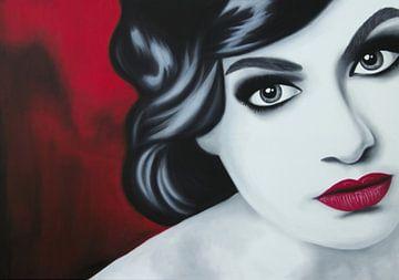 Emma portrait sur anja verbruggen
