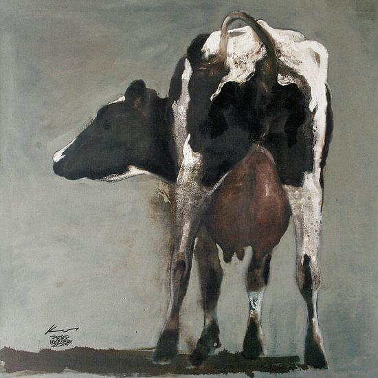Achterwerk Koe van Pieter Hogenbirk