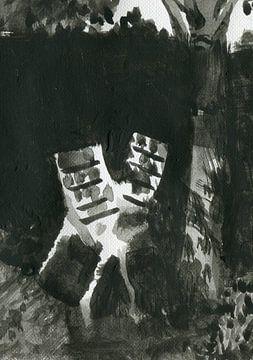 zwei Stühle 2 von Maartje Kaper