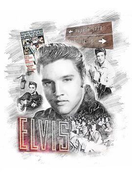 Elvis Presley van Theodor Decker