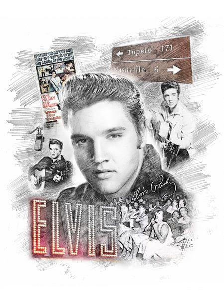 Elvis Presley von Theodor Decker