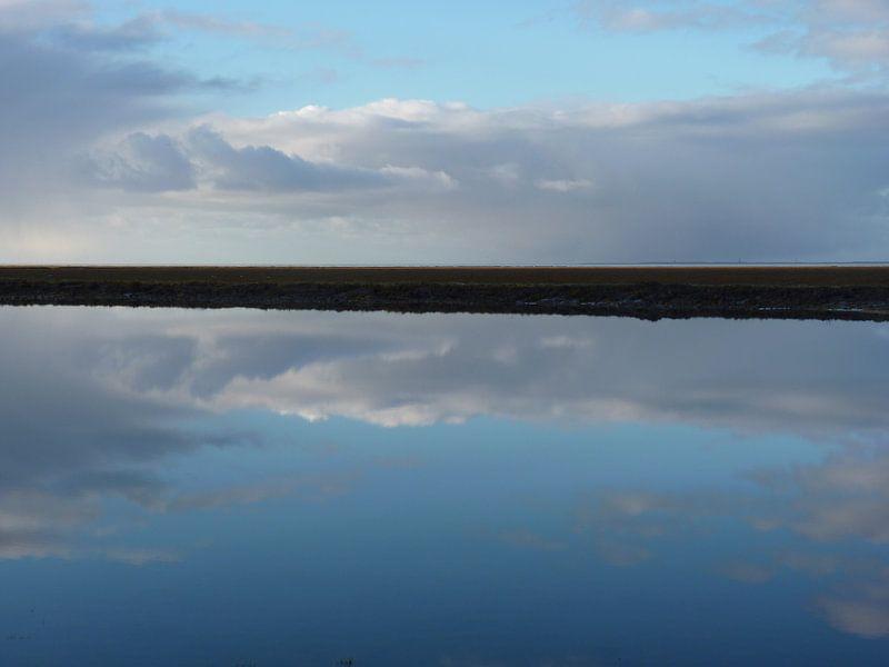 1. Minimalisme, landschap. van Alies werk