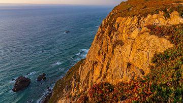Cabo da Roca in Portugal tijdens zonsondergang van Jessica Lokker