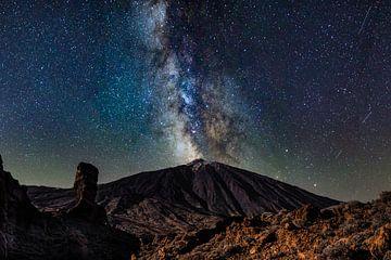 Milkyway Teide von Benjamin Ortmayr