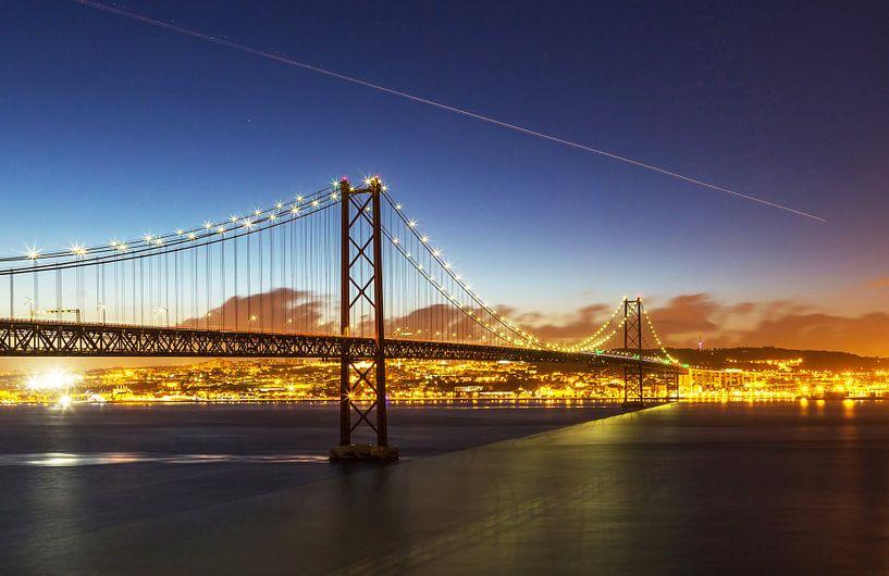 Lisbonne à l'heure bleue sur Frank Herrmann