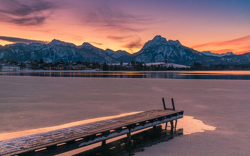 Hopfen am See, Allgäu, Beieren, Duitsland van Henk Meijer Photography