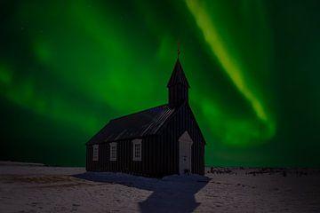 Budir  Aurora iJsland van Mario Calma