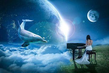 Mondschein-Melody von Ursula Di Chito
