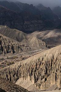 Schroffe Berge im Himalaya | Nepal