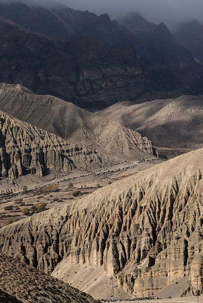 Ruige bergen in de Himalaya | Nepal van Photolovers reisfotografie