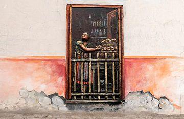 Cuenca: Muurschildering von Maarten Verhees