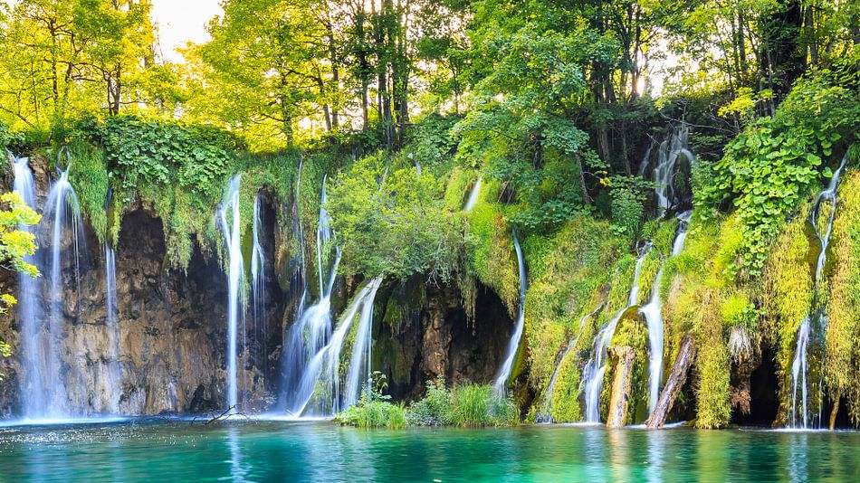 Plitvice waterfalls van Sander Meertins