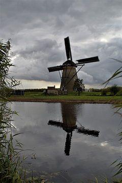 Kinderdijk, Alblasserdam, die Niederlande - Mühlenerbe von Maurits Bredius