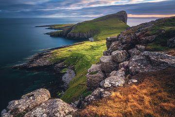 Schotland Neist Point Kust in het avondlicht van Jean Claude Castor