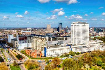 HDR Rotterdam Erasmus MC skyline von W J Kok