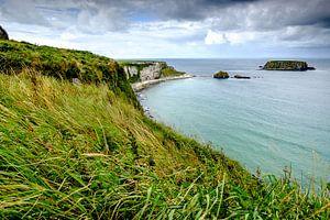 De kust van Noord-Ierland