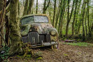 Vintage car van