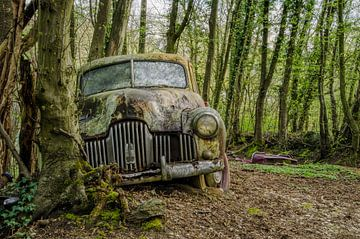 Vintage car van Petra Simons