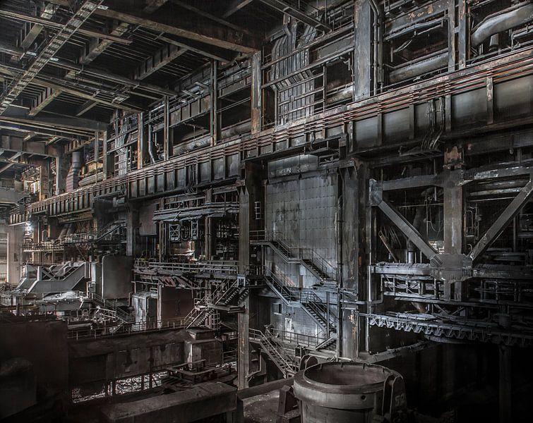 Iron works van Olivier Van Cauwelaert