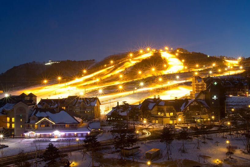 Wintersport Alpensia Südkorea von Menno Boermans