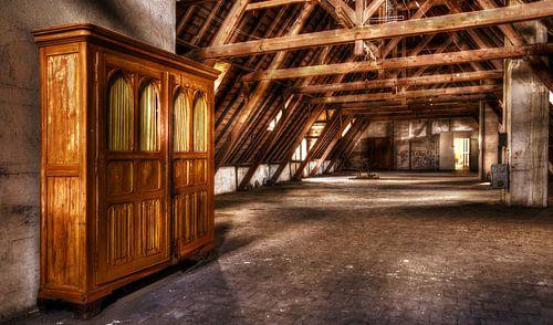 cupboard on the attic