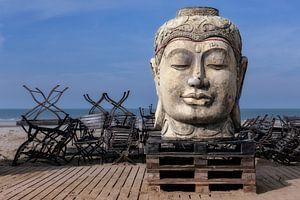 Boeddha op het strand
