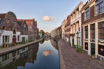 Die Schie in Schiedam von Charlene van Koesveld