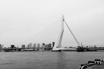 De Erasmusbrug Rotterdam von Rayn Hossainkhan
