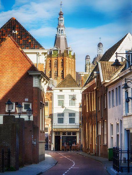 Den Bosch Waterstraat van Jacq Christiaan