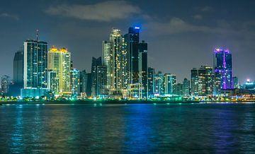 Skyline Panama City van Rijk van de Sandt