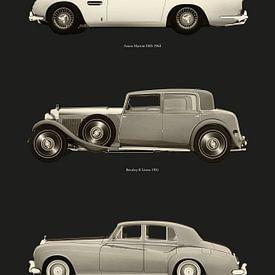 Klassieke Britse auto's van Jan Keteleer