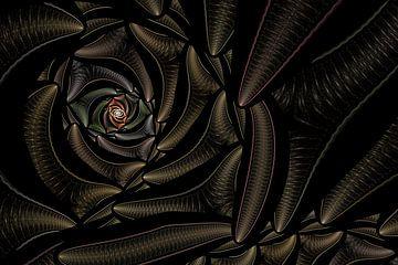 Abstrakt von Rosa Fotoart