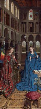 Jan van Eyck - The Annunciation sur