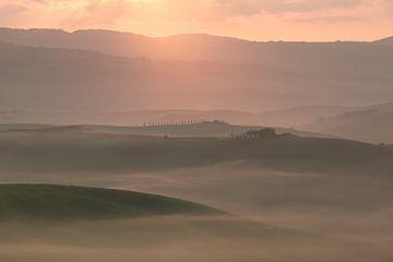 Toskanische Landschaft von Kimberley Jekel