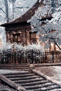 English garden house