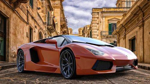 Lamborghini Aventador von H.m. Soetens