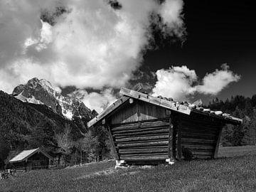 Blick zur Oberen Wettersteinspitze