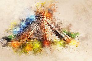 Chichén Itzá - Kukulcán von Sharon Harthoorn