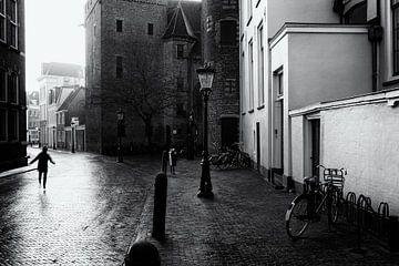 Derrière la cathédrale - Utrecht sur