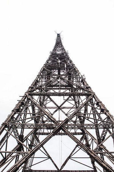 Radio toren Gliwice van Eric van Nieuwland
