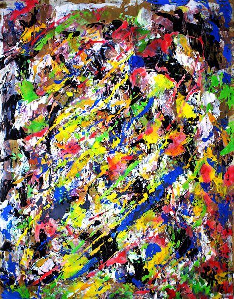 """""""Vermischtes Farbenspiel IV"""" von elha-Art"""