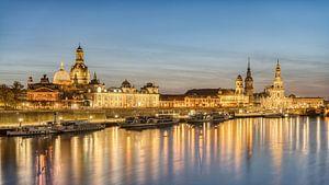 La ligne d'horizon de Dresde sur Michael Valjak