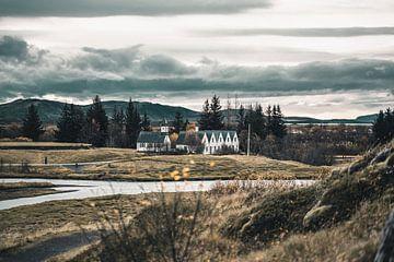 IJslandse kerk van Colin van Wijk