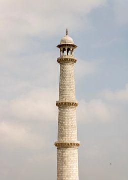 Der Turm des Taj Mahal von Maarten Borsje