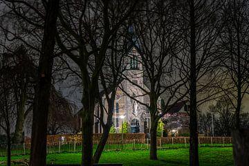 Kirche in Bergschenhoek von Olga Drop