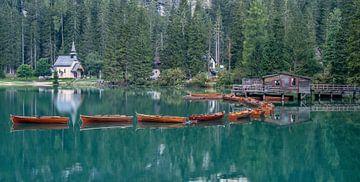 Pragser Wildsee in Südtirol von Achim Thomae