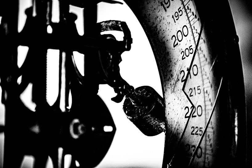 WEEGSCHAAL BAUMWOLL SPINNEREI van SchippersFotografie