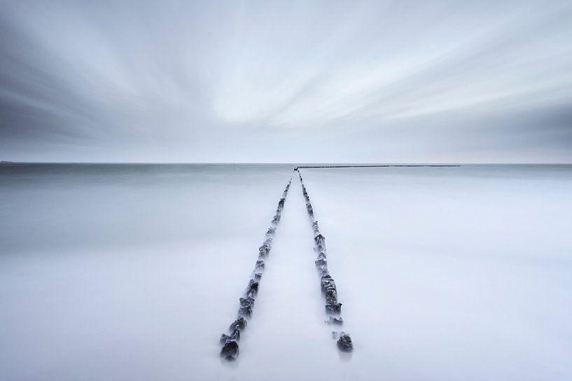 Zeewering bij Hindeloopen van Arjan Keers