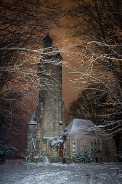 Nachts am Kaiser Wilhelm Turm