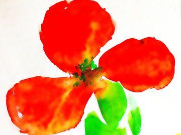 rote Blüte  von M.A. Ziehr